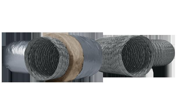 Takviyeli PVC Flexible Hava Kanalları