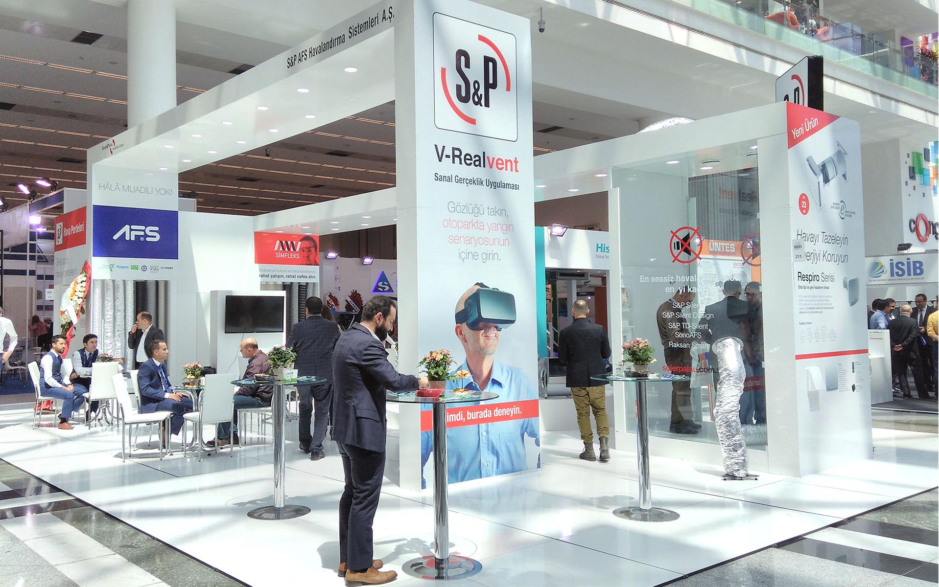 S&P AFS 2017 Sodex Ankara Fuarında