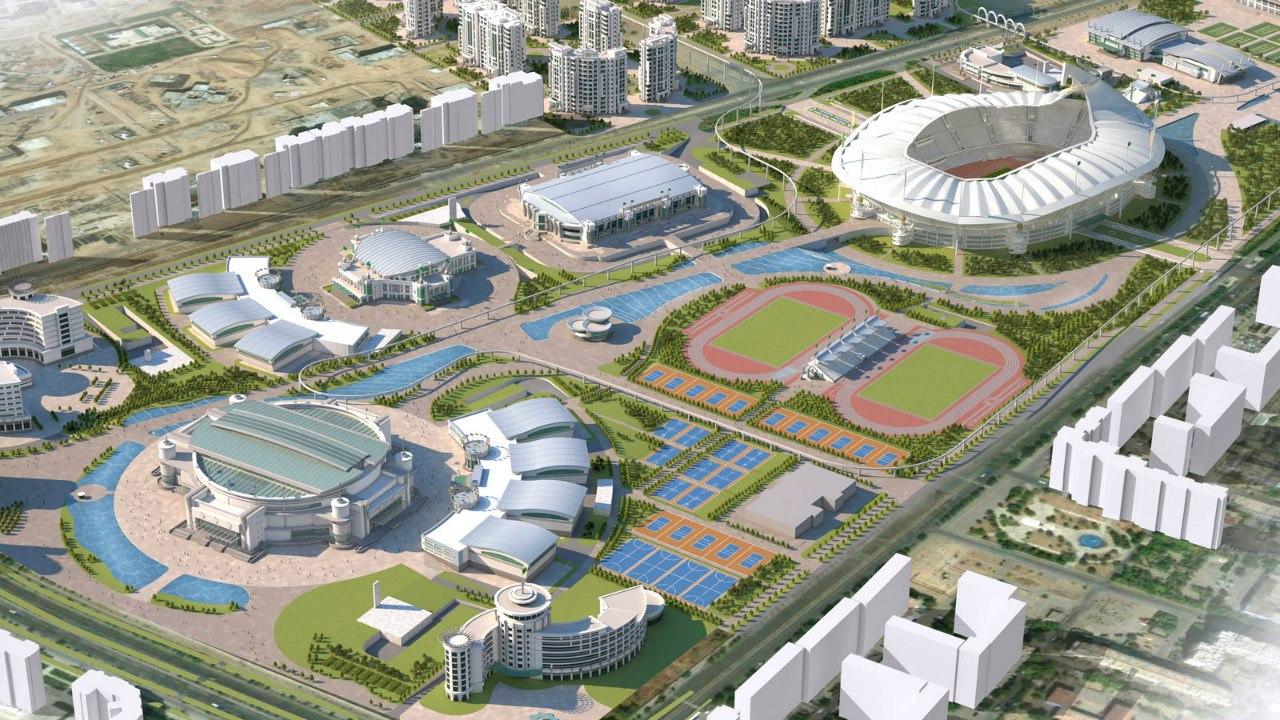 Türkmenistan Aşkabat Olimpik Kompleksi