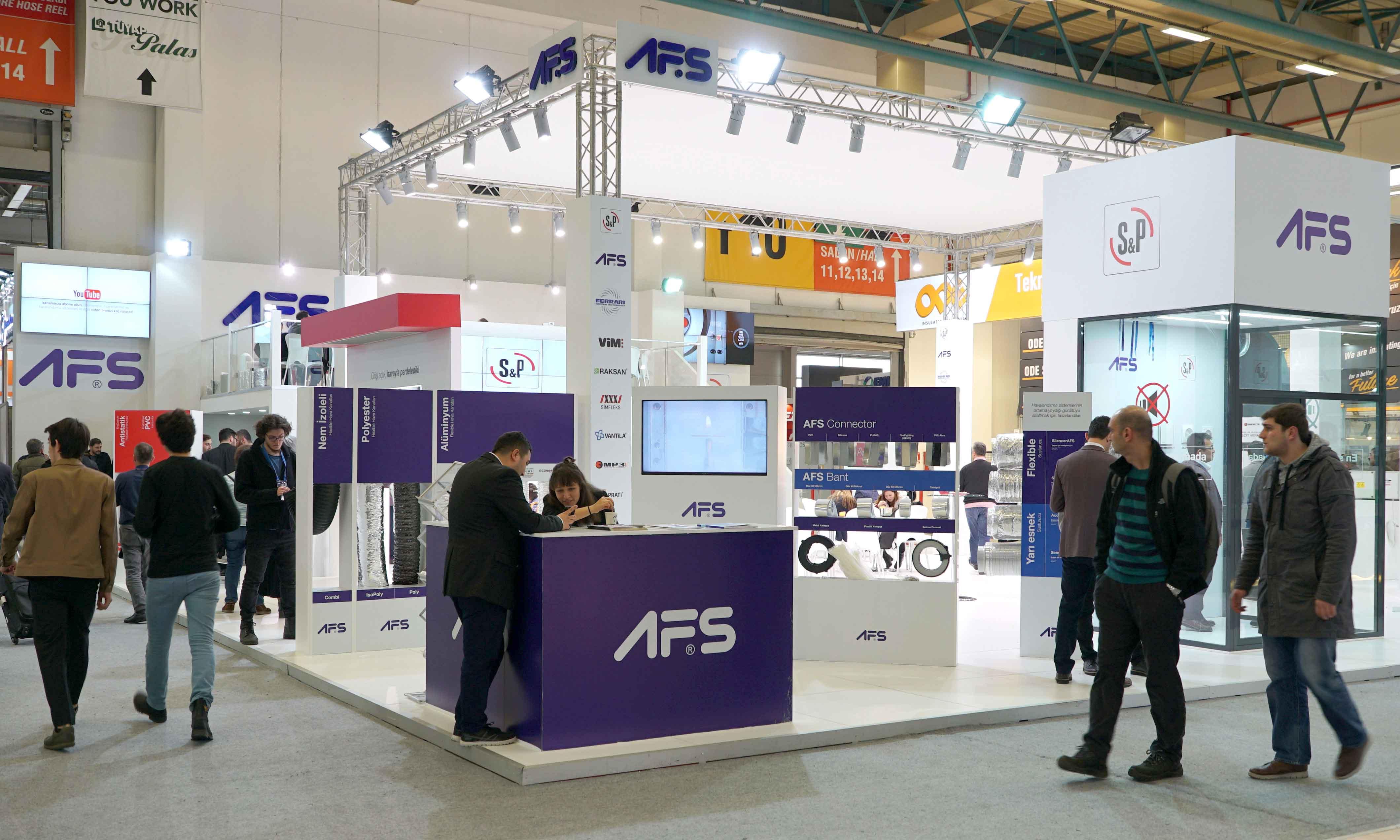 S&P AFS ISK-Sodex 2018 İstanbul Fuarında