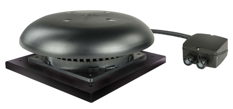 TPSB Serisi Yatay Atışlı Çatı Tipi Fanlar